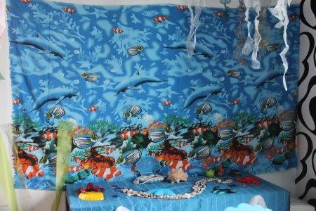 meriaiheinen teema lastenjuhliin koristelut