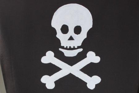 merirosvolippu askartelu