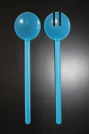 siniset muovi ottimet