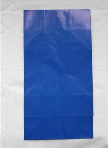 sininen paperipussi