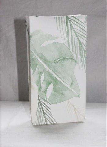 käsintehty paperipussi viidakko aiheella