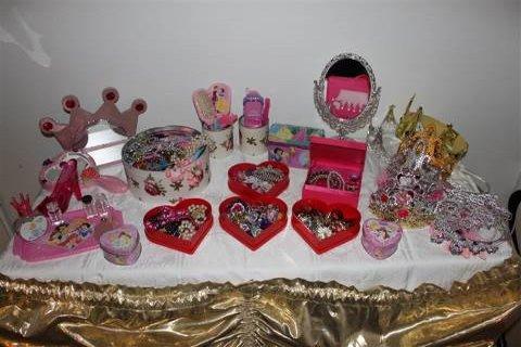 prinsessa tarvikkeita teemajuhliin ohjelmaksi