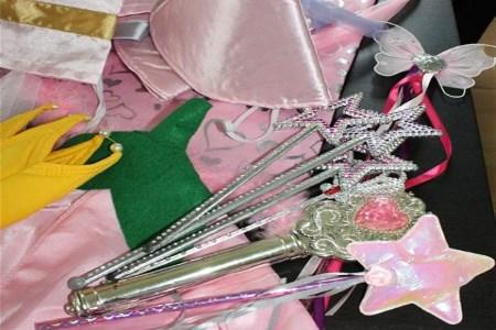 Prinsessa teemajuhliin asusteet