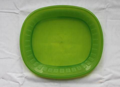 vihreä ovaali muovi lautanen vuokrataan lastenjuhliin